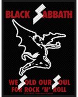 BLACK SABBATH - Sold our Souls - Patch / Aufnäher