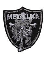METALLICA - Raiders Skull - Patch / Aufnäher