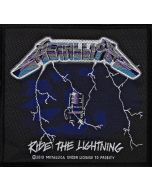 METALLICA - Ride the Lightning - Patch / Aufnäher