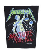 METALLICA - And Justice for All - Backpatch / Rückenaufnäher