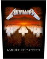 METALLICA - Master of Puppets - Backpatch / Rückenaufnäher