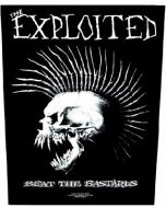 EXPLOITED - Beat the Bastards - Backpatch / Rückenaufnäher