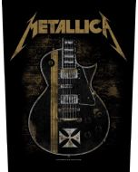 METALLICA - Hetfield Guitar - Backpatch / Rückenaufnäher