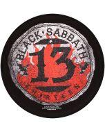 BLACK SABBATH - 13 Circular - Backpatch / Rückenaufnäher
