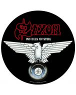 SAXON - Wheels of Steel - Backpatch / Rückenaufnäher
