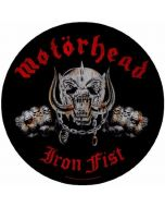 MOTÖRHEAD - Iron Fist - Rückenaufnäher / Backpatch