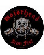 MOTÖRHEAD - Iron Fist - Rückenaufnäher / Backpatch