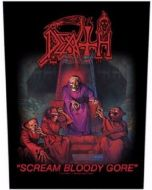 DEATH - Scream Bloody Gore - Rückenaufnäher / Backpatch
