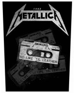 METALLICA - No LIfe - Til Leather - Backpatch / Rückenaufnäher