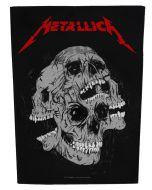 METALLICA - Skulls - Backpatch / Rückenaufnäher