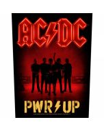 AC/DC - PWR-UP - Band Silhouette - Backpatch / Rückenaufnäher
