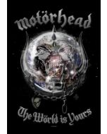 MOTÖRHEAD - The Wörld is Yours - Posterflag