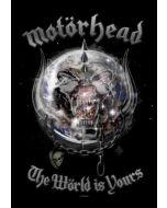 MOTÖRHEAD - The Wörld is Yours - Posterflag