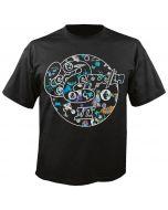 LED ZEPPELIN - Album Art in Circle - T-Shirt