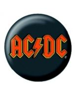 AC/DC - Red Logo - Button