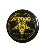 VENOM - Welcome to Hell - Button / Antecker