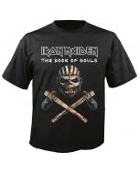 IRON MAIDEN - The Book of Souls - Axe - T-Shirt