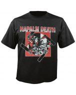 NAPALM DEATH - Nazi Punks - Fuck Off - T-Shirt