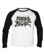 MORBID ANGEL - Logo - Baseball - Langarm - Shirt / Longsleeve