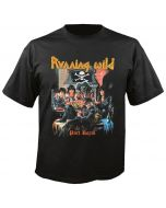 RUNNING WILD - 40 Years - Still Riding the Storm - Port Royal - T-Shirt