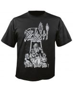 DEATH - Scream Bloody Gore - Line Art - Black - T-Shirt