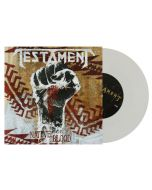 "TESTAMENT - Native Blood - 7"" Single White Vinyl"