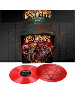 DESTRUCTION - Born to thrash - Live in Germany - 2LP - Transparent Red