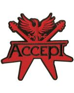 ACCEPT - Logo - Cut Out - Patch / Aufnäher