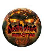 DESTRUCTION - Under Attack - Button