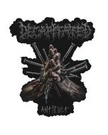 DECAPITATED - Anticult - Cut Out - Patch / Aufnäher