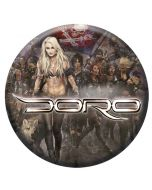 DORO - Forever Warriors - Button / Anstecker