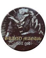 GRAND MAGUS - Wolf God - Button / Anstecker