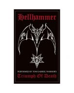 HELLHAMMER - Triumph of death - Patch / Aufnäher
