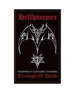 HELLHAMMER - Triumph of death - Patch / Aufnäher