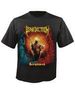 BENEDICTION - Scriptures - Cover - T-Shirt