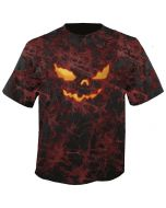 HELLOWEEN - Pumpkin Eye - Batic - T-Shirt