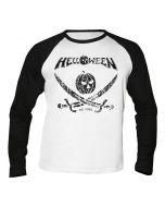 HELLOWEEN - German Metal Est. 1984 - Pirate Pumpkin - Baseball - Langarm - Shirt / Longsleeve