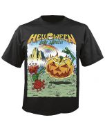 HELLOWEEN - Stay Safe - Healthy - Black - T-Shirt