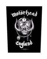 MOTÖRHEAD - England - Backpatch / Rückenaufnäher