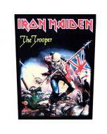 IRON MAIDEN - The Trooper - Backpatch / Rückenaufnäher