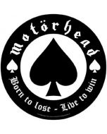 MOTÖRHEAD - Born to Lose - Backpatch / Rückenaufnäher