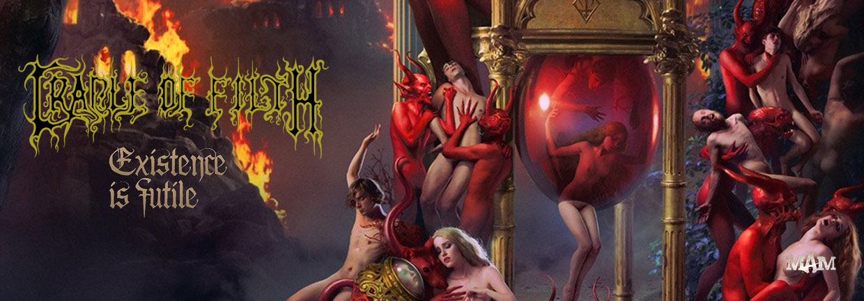 CRADLE OF FILTH - Existence of Futile